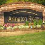 tigard oregon arlington ridge sign
